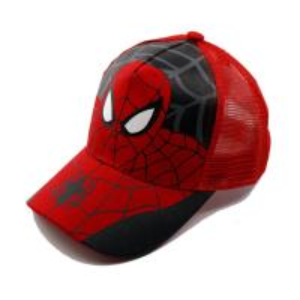 Durable Kids Spider-man Baseball Cap Cool Design Toddler Boy Baseball Caps Manufactures
