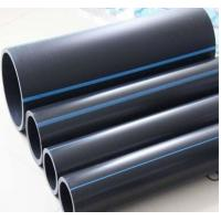 China DN110 hdpe pipes for water supply GB/T 13663, EN12201 on sale