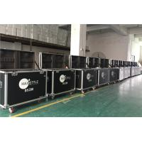 Black Flight Case Aluminum Tool Cases Easy To Moving Customized Size Manufactures