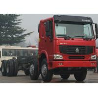 Professional Cargo Chassis For Trucks, Power Steering 371HP Heavy Truck Chassis Manufactures