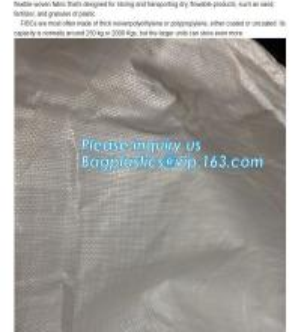 China Sand Jumbo Bags,Ton Bag 1500kg /chinese made white pp woven knitted big ton bag,pp woven jumbo big bag for gypsum powder on sale