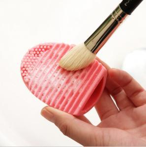 China Custom Logo Promotional Gift Silicon Cleaning MakeUp Washing Brush on sale