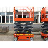 Scissor Lift 5.8m Elevated Work Platform Occupy Tight Space For Aerial Work Manufactures