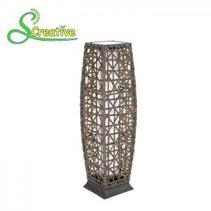 Outdoor Decorative Rattan Solar Garden Lights Energy Saving 1800lm-7200lm Manufactures