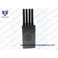 China High Integration Mobile Phone Signal Jammer , Jammer Signal Blocker With Carry Case on sale