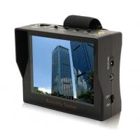China Portable 3.5 TFT LED Audio Video Security Tester CCTV Camera Test Monitor on sale