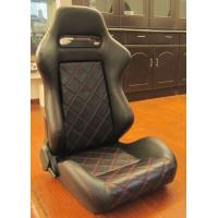 Double Or Single Slider Sport Racing Seats / Automotive Racing Bucket Seats Manufactures