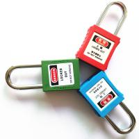 Non-Conductive Nylon ABS Body Different Material Choose Shackle Safety Lockout Padlocks Manufactures