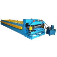 Color Coated Coil 16 Station Roller Roll Forming Machine For Roofing Sheet Manufactures