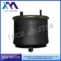 Black Color Truck Air Springs / Air Bag Suspension With Piston Spring Manufactures