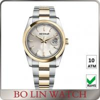 Brushed Sanding Full Stainless Steel Watch Underwater Watches For Womens Manufactures