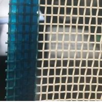 6mm X6mm Opening Size Polyester Mesh Belt For Food Industries , Plain Weave Mesh Manufactures