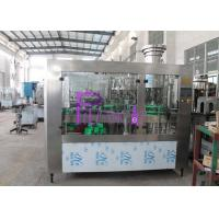 40 Heads Soft Drink Filling Machine , Monoblock Filling Machine Manufactures