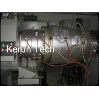 16 - 800mm Waste PVC Pipe Extrusion Machine / Extrusion Line PLC Manufactures
