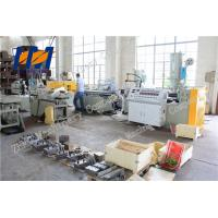 Wood Plastic Composite WPC Profile Extrusion Line Double Screw Vented Type Manufactures