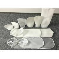 Sewn Structure Pocket Filter Bag Liquid - Solid Separation Use High Strength Manufactures