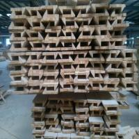 Anti Aging Wood Window Molding , Customized Length Wood Window Casing Manufactures