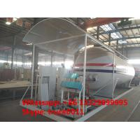 20m3 skid lpg gas plant with digital scales and compressor for sale, factory sale skid lpg gas plant with compressor Manufactures