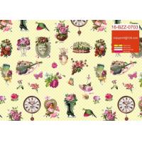 Buy cheap Custom Printed Cute Gift Wrapping Paper Roll For Birthday / Holiday / Christmas from wholesalers