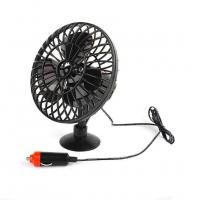 DC 12V Oscillating With On/Offf Switch Car Cooling Fan OEM Service Manufactures