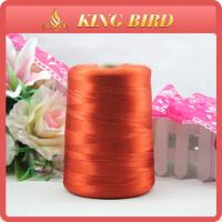 600D/1 dyed Machine Embroidery Threads For Hand Knitting Weaving Manufactures