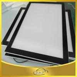China 2015 New LED Double Side Displaying Magnetic slim Advertising Lighting Box Supply Aluminum on sale