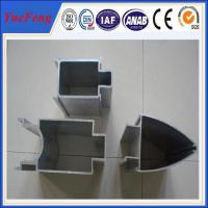 aluminium frame wall glass partition/6063 aluminium frame glass partition,OEM Manufactures