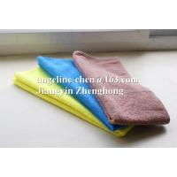 China High water absorption,easy cleaning, eco-friendly, soft,durable and cheap microfiber cleaning towels/cloth on sale