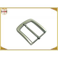 Pearl Nickel Brushed 1.5 Inch Metal Belt Buckle Perfect Design Die Casting Plating Manufactures