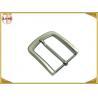 Buy cheap Pearl Nickel Brushed 1.5 Inch Metal Belt Buckle Perfect Design Die Casting Plating from wholesalers