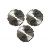 SGS End Mill Cutting Tools Tungsten Carbide Circular Blade / Slitting Cutter Saws Manufactures