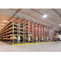 Heavy Duty Mobile Racking Storage Systems Upright For Storage Pallet Racks Manufactures