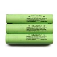 China High Capacity 3.6V Cylindrical Lithium Battery 2250mAh , Panasonic 18650 Battery on sale