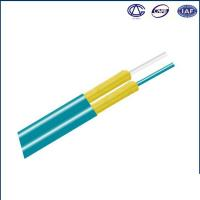 Buy cheap Indoor Armored Fiber Optic Cable Aramid Fiber Figure 8 OM1 OM2 OM3 from wholesalers