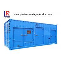 China 20 Or 40 Feet Container Generator / Gen Set 800kva - 1880kva With Cummins Engine on sale