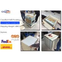 Quality F430 1.75mm High Accuracy 3d Printer Large Build Volume With Glass Ceramic Panel for sale