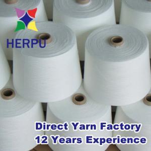 China China semi virgin polyster spun yarn supplier on sale