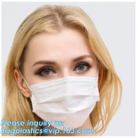 medical consumables disposable 3 Ply Surgical Non-Woven Medical face masks,Non-woven 2ply /3 ply ear loop medical dispos Manufactures