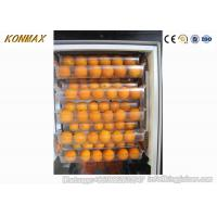 China Super Market Automatic Juice Vending Machine With Cup Lid , CE Certificate on sale