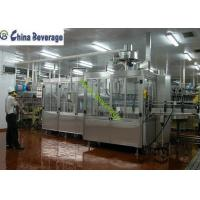 China Energy Drink Water Bottle Filling Machine , Carbonated Soft Drink Production Line on sale