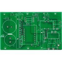 China Hard print simple gold finger pcb Single layer , KB high Tg 170 FR4 , FR-2 94VO on sale