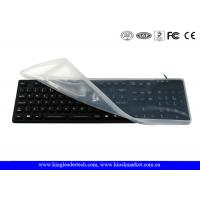 Full Keys Waterproof Keyboard with Removable Silicone Protecting Cover Manufactures