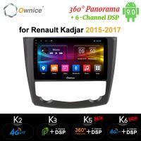 China Ownice Octa Core Android 9.0 Car DVD Player GPS Audio Navigation for Renault Kadjar 2015 - 2017 on sale