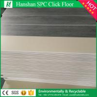 China Waterproof 6''x48'' easy click wood embossed vinyl plank floor  With Floorscore on sale