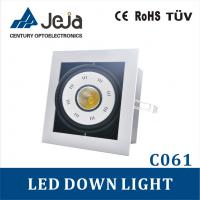 energy-saving Square Dual down light 15W/10W Epistar COB led down lightings Manufactures