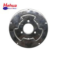 China Sheet Metal Stamping Parts Zinc Plated Surface Treatment 10 Steel Flange on sale