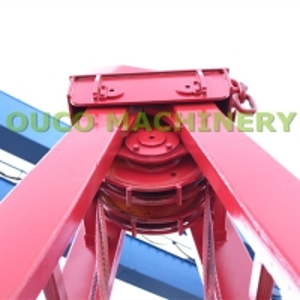 5cbm Red Color Mechanical BV Crane Grab Bucket Manufactures