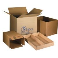 Cardboard Custom Carton Boxes For Moving House Embossing / Glossy Lamination Manufactures