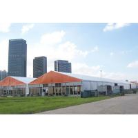 Roof Top Commercial Party Tents , Custom Event Tents With Double PVC Opaque Cloth Manufactures