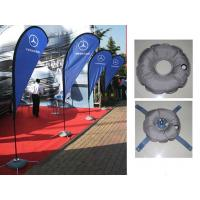 Knitted Fabric Custom Teardrop Flag Banner Manufactures